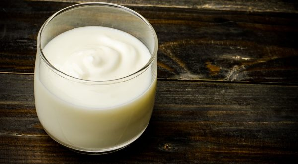Homemade yogurt in the glass on wooden background,healthy food, Image: 259676778, License: Royalty-free, Restrictions: , Model Release: no, Credit line: Profimedia, Stock Budget