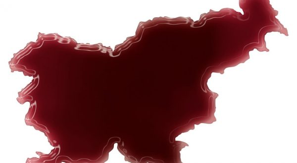 Pool of blood (or wine) that formed the shape of Slovenia. (series), Image: 209713075, License: Royalty-free, Restrictions: , Model Release: no, Credit line: Profimedia, Stock Budget