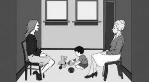 vizuali test katera je mama