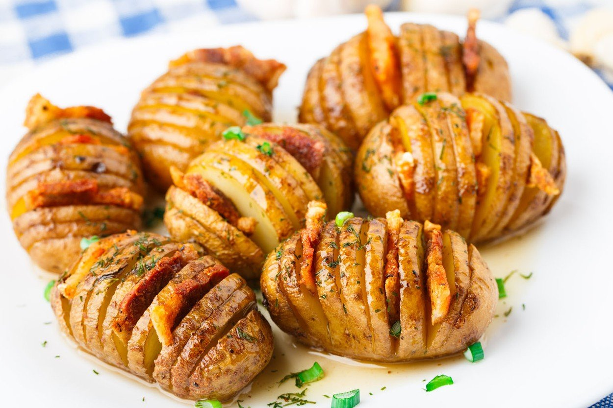 pečen krompirček