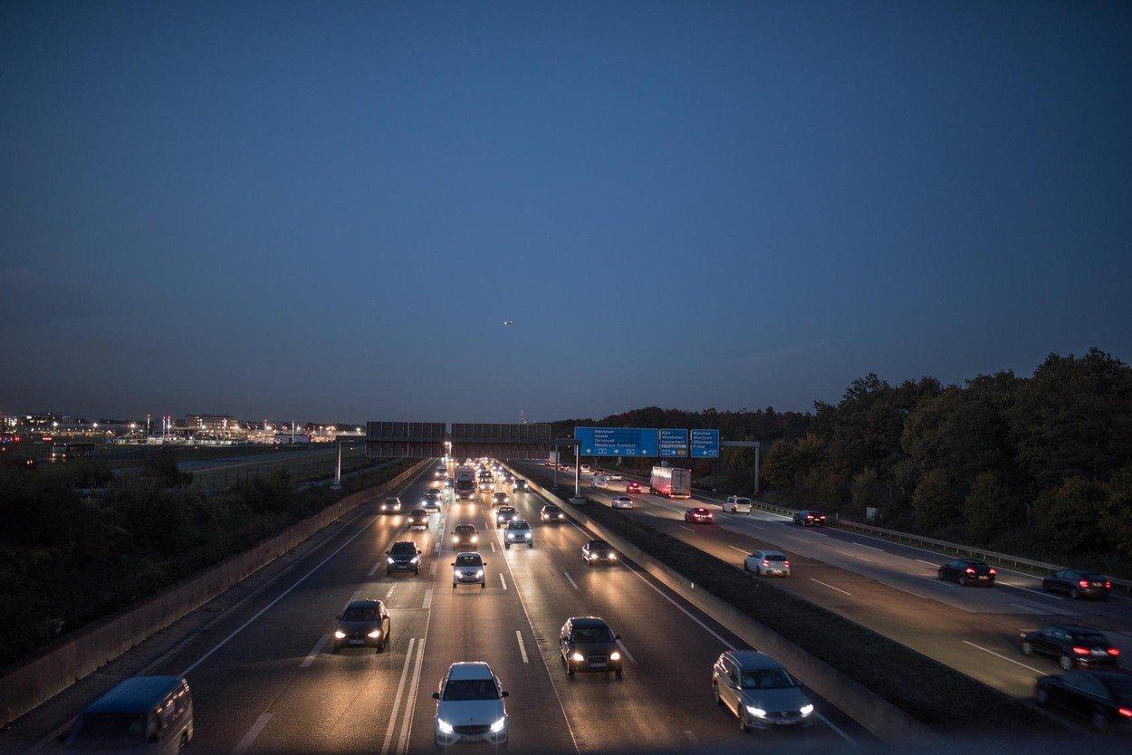 Verkehr A5 Frankfurt
