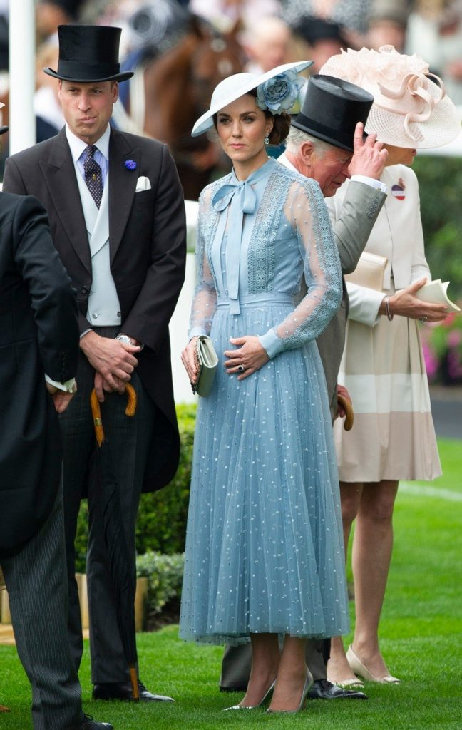 Kate Middleton četrtič noseča