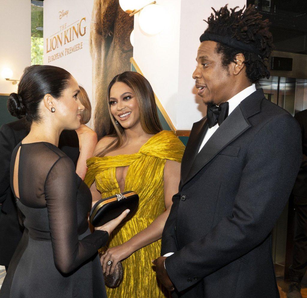 starševski nasvet Beyonce meghan in harryju