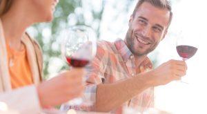rdeče vino za prebavo