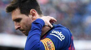 Lionel Messi poškodba