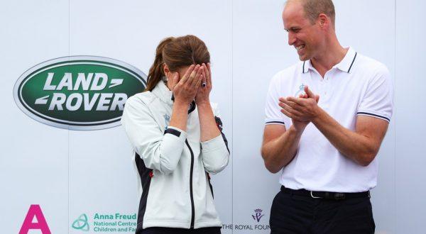 Kate Middleton v kratkih hlačah