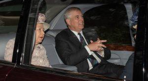britanski princ andrew avto