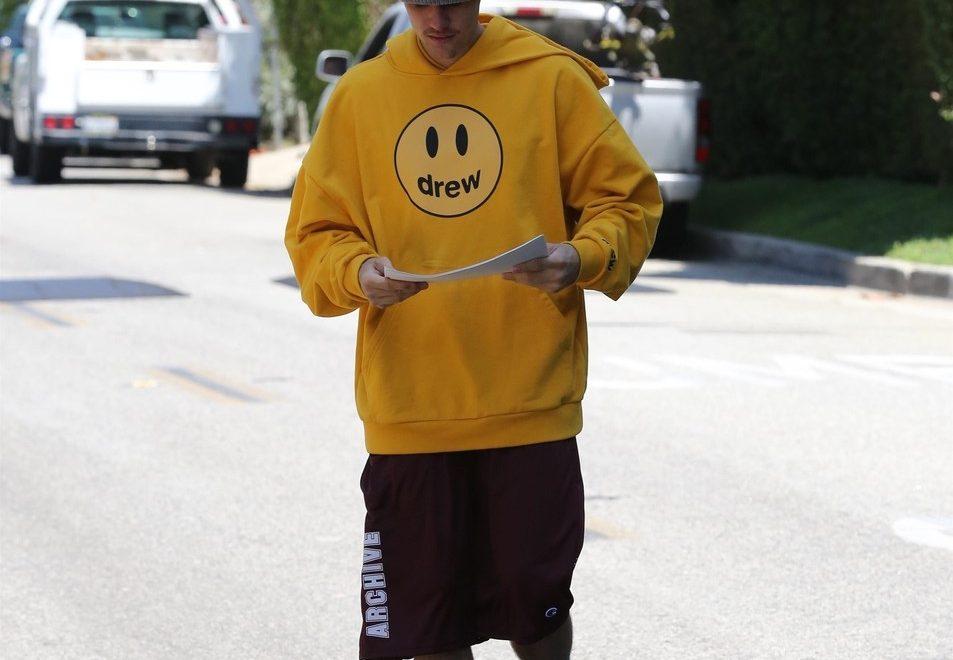 Justin Bieber akne