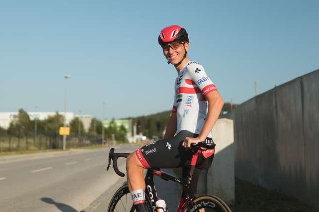 Tadej Pogačar dobil peto etapo po Emiratih