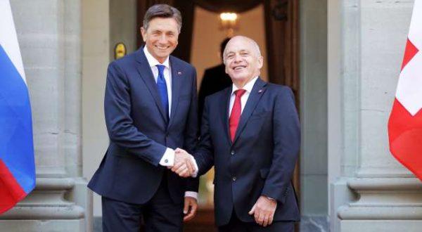 Borut Pahor na uradnem obisku v Švici