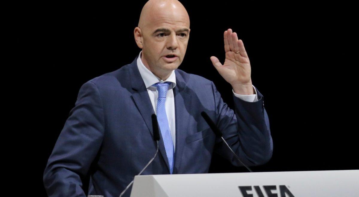 Predsednik Mednarodne nogometne zveze Fife Gianni Infantino