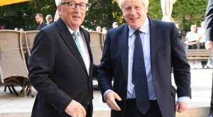 Jean-Claude Juncker Boris Johnson