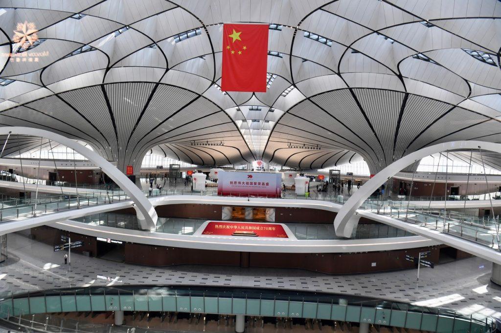 letališče Daxing v pekingu 2