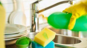kako očistiti gobico za pranje posode