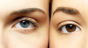 barva oči