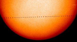 Merkurjeva senca bo prešla Sonce