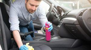 kako očistiti sedeže v avtomobilu
