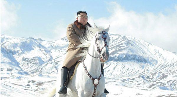 kim jong un na konju