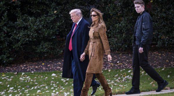 Melania Barron Trump
