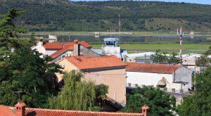 sečoveljsko letališče zasilni pristanek