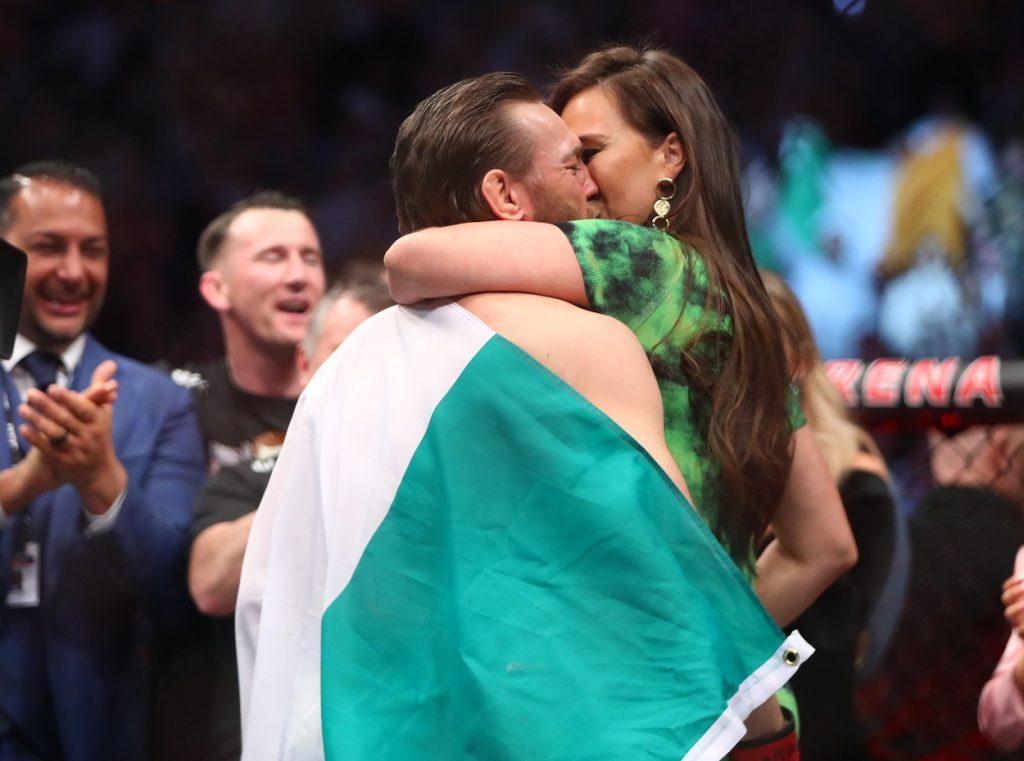 Conor McGregor žena