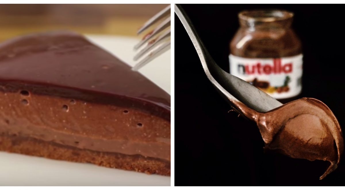 nutella chesecake recept