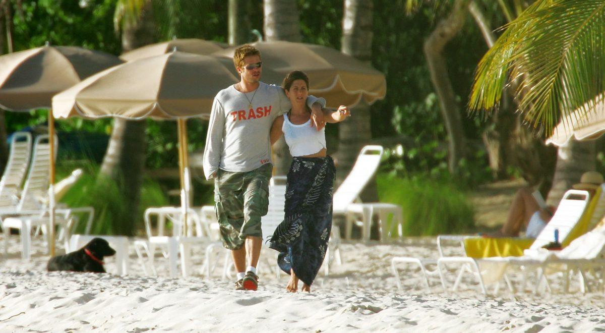 Brad in Jennifer skupaj v Mehiki