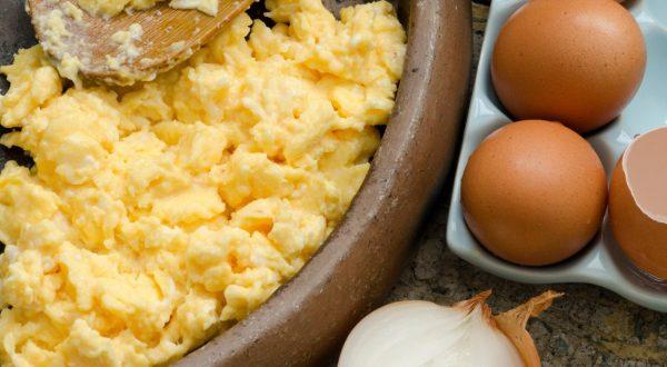 umešana jajca iz pečice