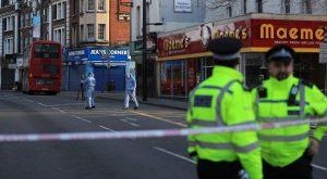 napad z nožem v londonu