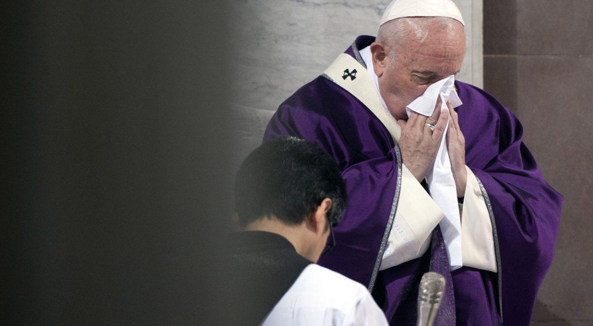 papež frančišek bolezen