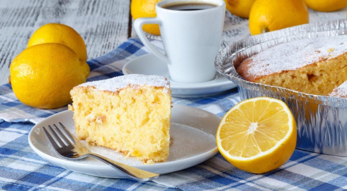 torta z limono in jogurtom