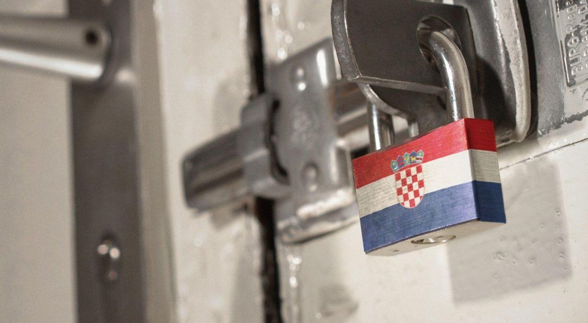 hrvaška kazni kršitev samoizolacija