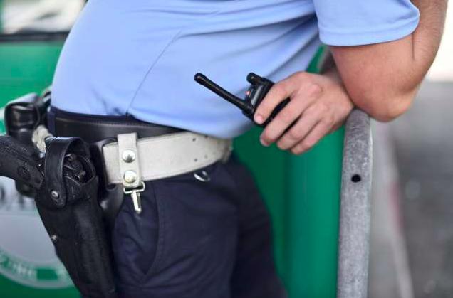 Ropar na Cankovi policist