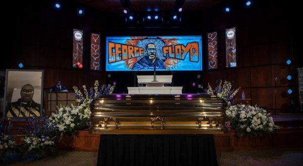 George Floyd žalna slovesnost