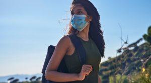učinkovita zaščitna maska test