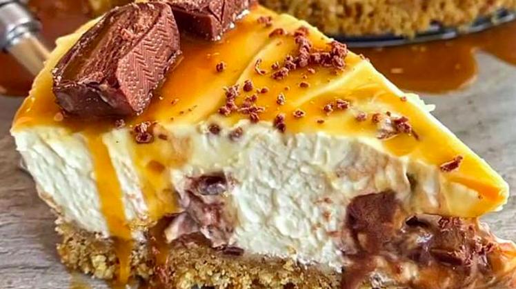 Mars Cheesecake brez peke