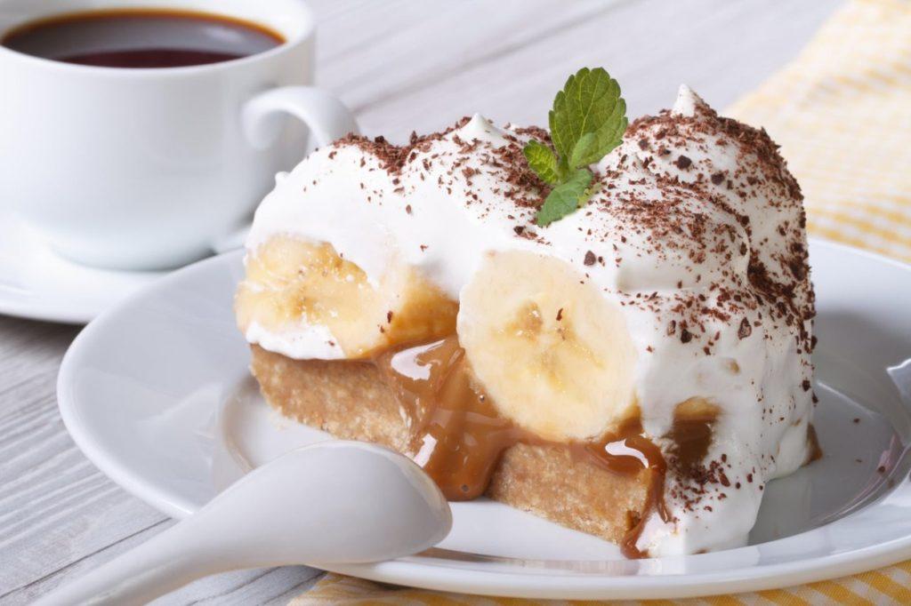 bananina torta brez peke