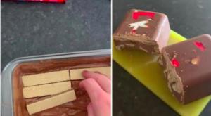 KitKat torta recept