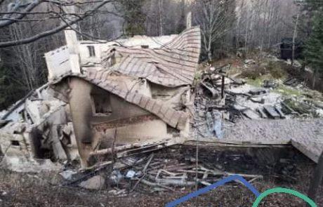 PZS: Pogorela koča na Okrešlju velik udarec za slovensko planinstvo