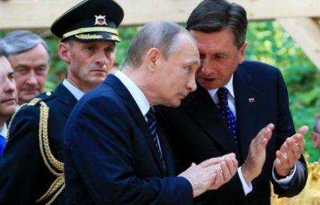 Putin ni zlorabil pietetnega obiska