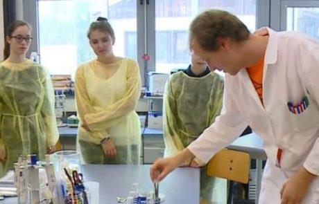 [VIDEO] Z eksperimenti mladim poskušali približati znanost