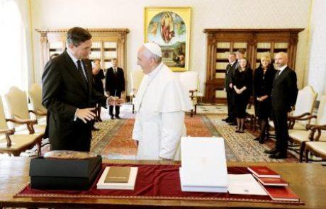 Po papežev blagoslov za arbitražo