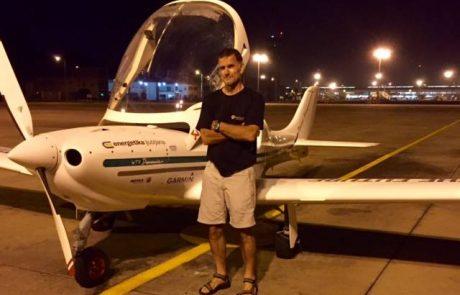 Lenarčič poletel na 20.000 kilometrov dolgo pot čez Azijo