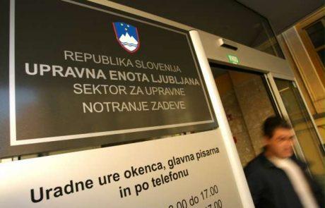Zaradi sesutja sistema na upravni enoti Ljubljana stranke že cel teden ne dobivajo dokumentov