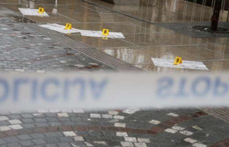 Rop sredi Ljubljane: policisti nadaljujejo z zbiranjem obvestil