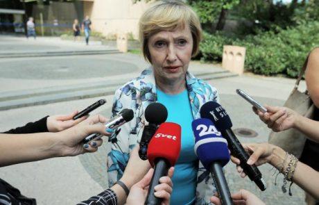 Ministrica Kolar Celarčeva na urgenci UKC Ljubljana