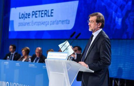Peterle vesel, ker je s svojo kandidaturo prispeval k razpravi o prihodnosti Evrope