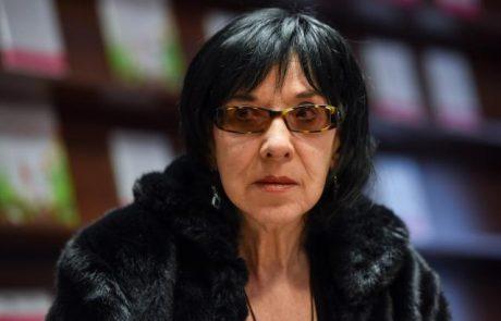 Pesnica, pisateljica in šansonjerka Svetlana Makarovič je letšnja dobitnica Ježkove nagrade
