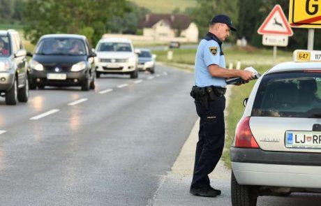 Policija pred začetkom novega šolskega leta poziva k previdnosti na cestah