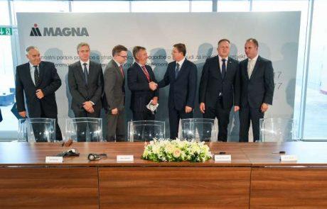 Magna se je zavezala, da bo zgradila novo tovarno in odprla nova delovna mesta